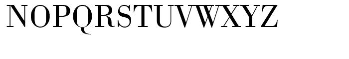 Bodoni Light Font UPPERCASE