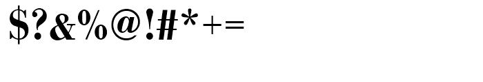 Bodoni Medium Narrow Font OTHER CHARS