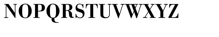 Bodoni Medium Narrow Font UPPERCASE