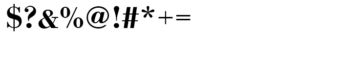 Bodoni Medium Wide Font OTHER CHARS