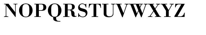 Bodoni Medium Wide Font UPPERCASE