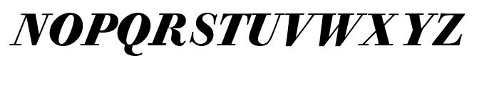 Bodoni Old Fashion Bold Italic Font UPPERCASE