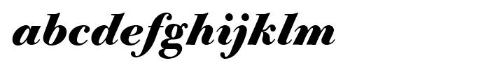 Bodoni Old Fashion Bold Italic Font LOWERCASE