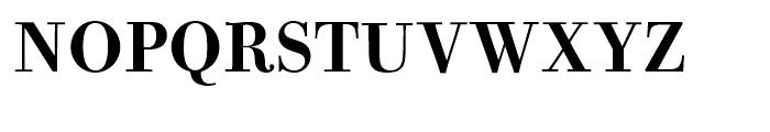 Bodoni Old Fashion Medium Font UPPERCASE