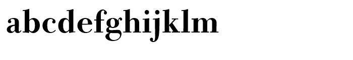 Bodoni Old Fashion Medium Font LOWERCASE