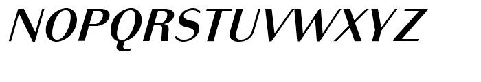 Bodoni Sans Text Bold Italic Font UPPERCASE