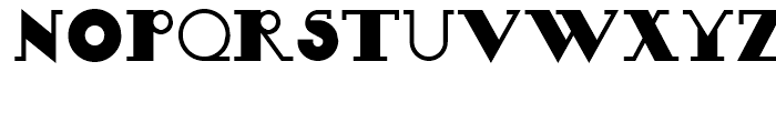Boeuf Au Joost NF Regular Font UPPERCASE