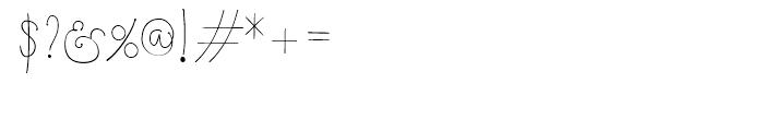Boho Script Line Drop Regular Font OTHER CHARS