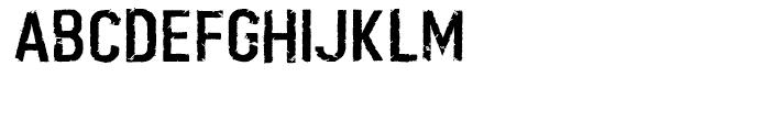 Boilerplate Regular Font UPPERCASE