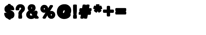 Bold Bold Regular Font OTHER CHARS