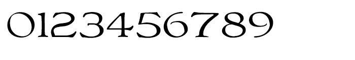 Bonaventure Expanded Font OTHER CHARS