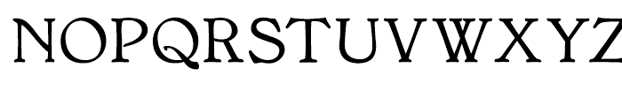 Bonning Bold Font UPPERCASE