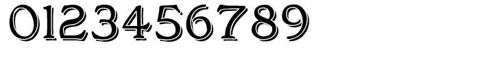 Bonnington Black Regular Font OTHER CHARS