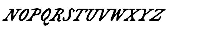 Bonnycastle Regular Font UPPERCASE