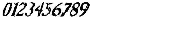 Bonray Italic Font OTHER CHARS