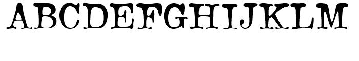 Bonsai Regular Font UPPERCASE
