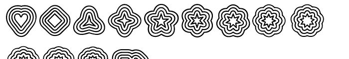 Boogie Regular Font UPPERCASE