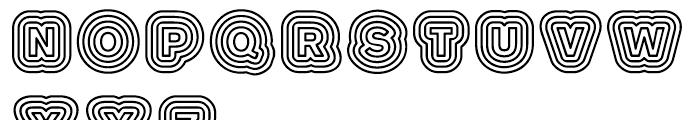 Boogie Regular Font LOWERCASE