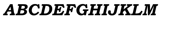 Bookman Old Style Cyrillic Bold Italic Font UPPERCASE