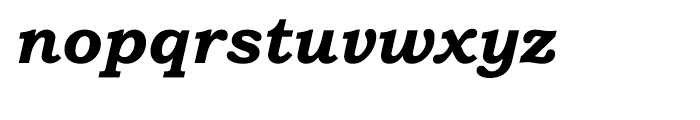 Bookman Old Style Cyrillic Bold Italic Font LOWERCASE
