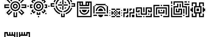 Borges Labyrinthe Font UPPERCASE