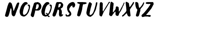Botanica Sans Oblique Font UPPERCASE