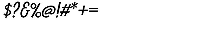 Boucherie Sans Italic Font OTHER CHARS