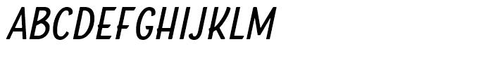 Boucherie Sans Italic Font LOWERCASE