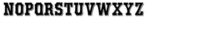 Boxwood Alternates Font UPPERCASE
