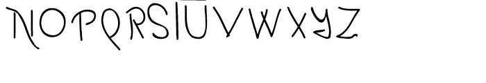 Boyscout Regular Font UPPERCASE