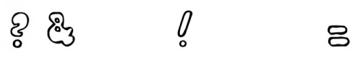 Bobolha Regular Font OTHER CHARS