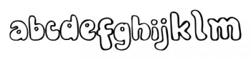 Bobolha Regular Font LOWERCASE