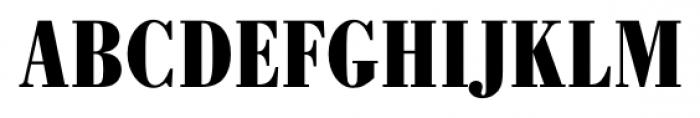 Bodoni Recut FS Bold Condensed Font UPPERCASE
