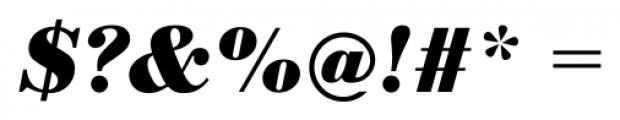 Bodoni Recut FS Bold Italic Font OTHER CHARS