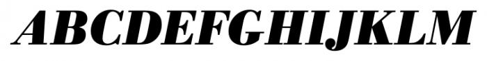 Bodoni Recut FS Bold Italic Font UPPERCASE