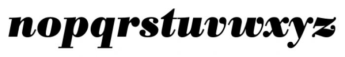 Bodoni Recut FS Bold Italic Font LOWERCASE