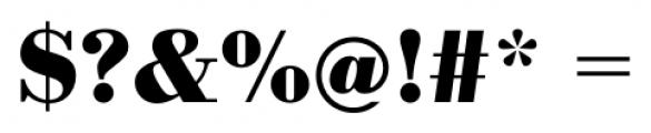 Bodoni Recut FS Bold Font OTHER CHARS