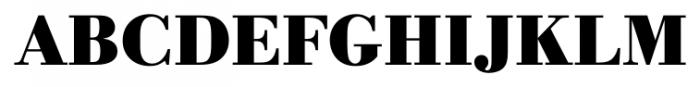 Bodoni Recut FS Bold Font UPPERCASE