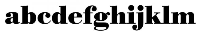 Bodoni Recut FS Bold Font LOWERCASE