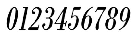 Bodoni Recut FS Condensed Italic Font OTHER CHARS