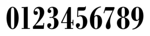Bodoni Recut FS DemiBold Condensed Font OTHER CHARS