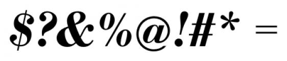 Bodoni Recut FS DemiBold Italic Font OTHER CHARS