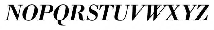 Bodoni Recut FS DemiBold Italic Font UPPERCASE