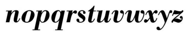 Bodoni Recut FS DemiBold Italic Font LOWERCASE