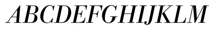 Bodoni Recut FS Italic Font UPPERCASE