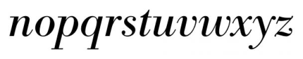 Bodoni Recut FS Italic Font LOWERCASE