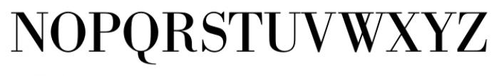 Bodoni Recut FS Regular Font UPPERCASE