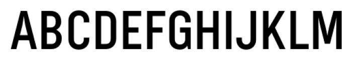 Bond 4F Medium Font UPPERCASE