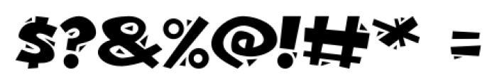 Bonkers Regular Font OTHER CHARS