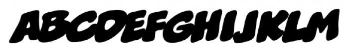 Boogers BB Italic Font UPPERCASE
